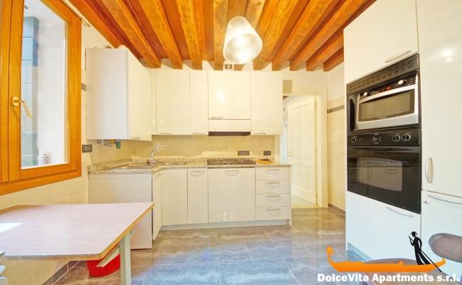 appartamento in affitto a venezia con giardino per 4