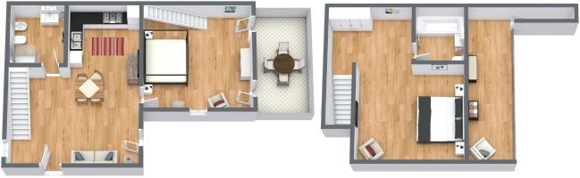 Planimetria Appartamento N.1