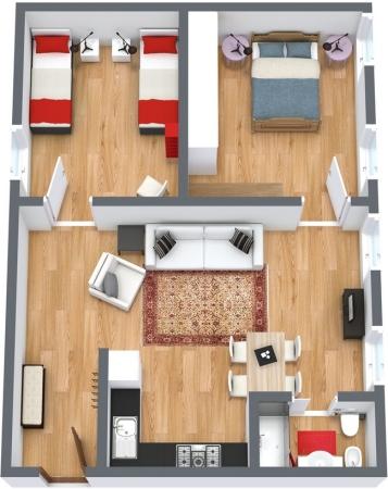 Planimetria Appartamento N.112