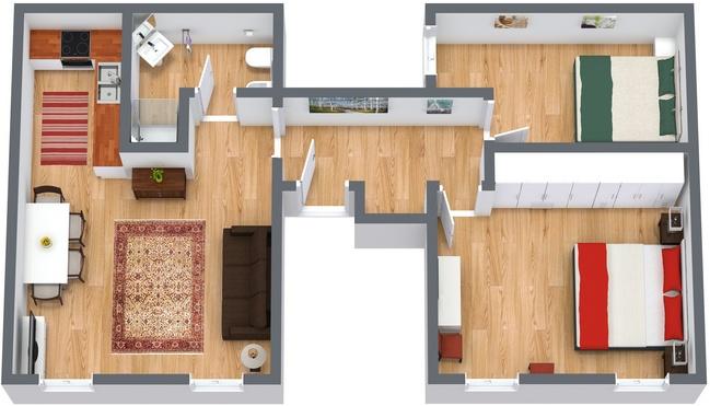 Planimetria Appartamento N.113