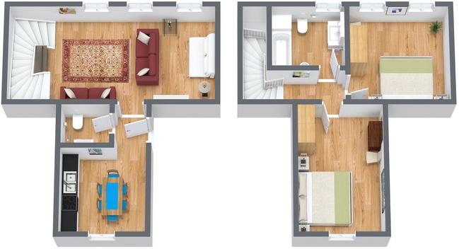 Planimetria Appartamento N.115
