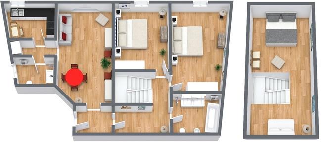 Appartamento di lusso a venezia appartamenti a for Planimetria appartamento