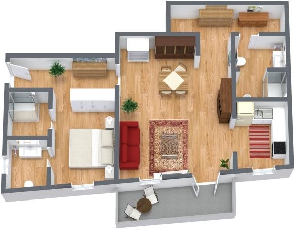 Planimetria Appartamento N.130