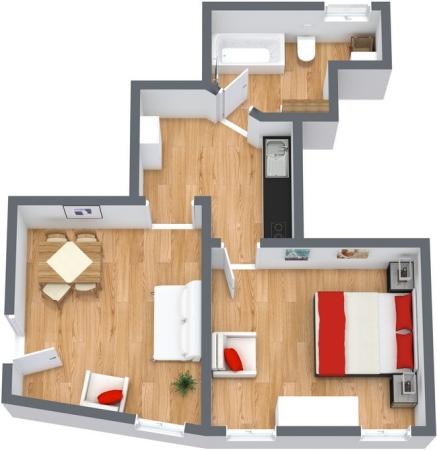 Planimetria Appartamento N.142