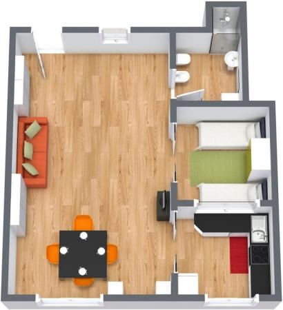 Planimetria Appartamento N.146