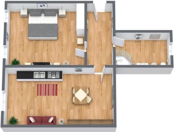 Planimetria Appartamento N.147