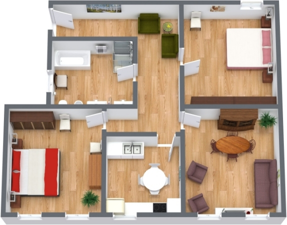 Planimetria Appartamento N.148