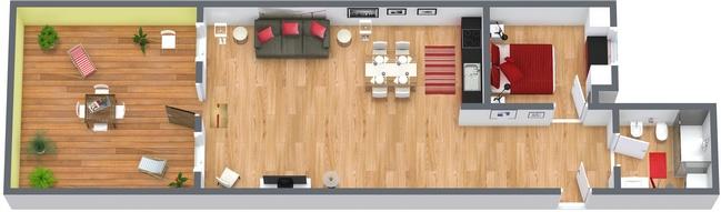 Planimetria Appartamento N.152