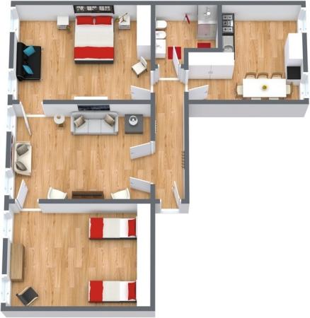 Planimetria Appartamento N.161