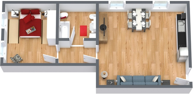 Planimetria Appartamento N.162
