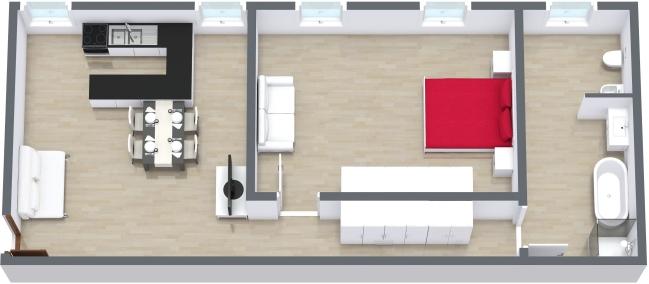 Planimetria Appartamento N.164