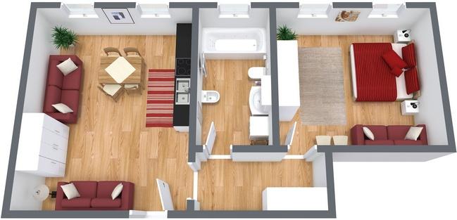 Planimetria Appartamento N.17