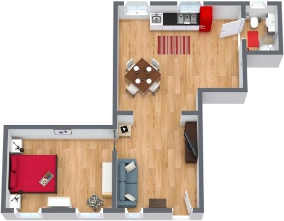 Planimetria Appartamento N.173