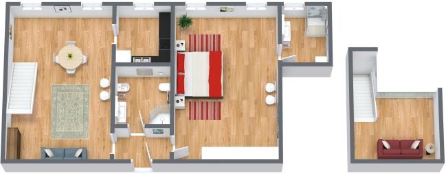 Planimetria Appartamento N.174