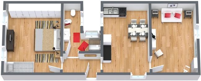 Planimetria Appartamento N.175