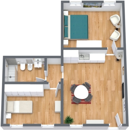 Planimetria Appartamento N.180