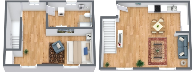 Planimetria Appartamento N.184