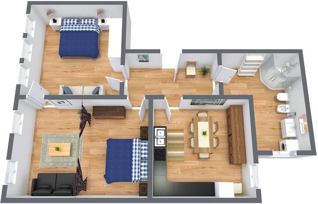 Planimetria Appartamento N.188