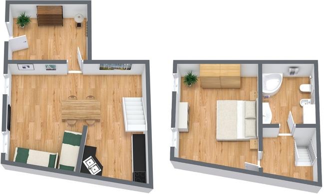 Planimetria Appartamento N.19