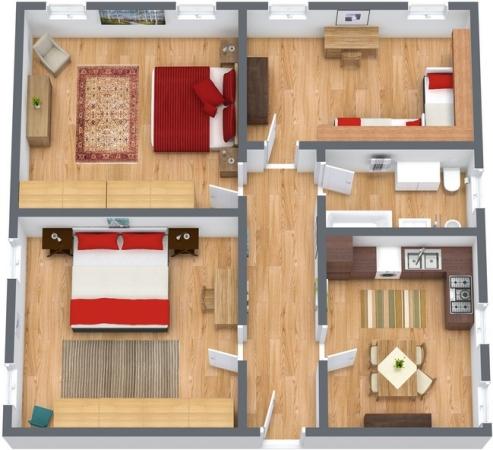 appartamento venezia biennale con 3 camere da letto
