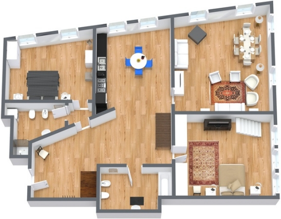 Planimetria Appartamento Of Attico A Venezia In Affitto Per Vacanze Appartamenti A