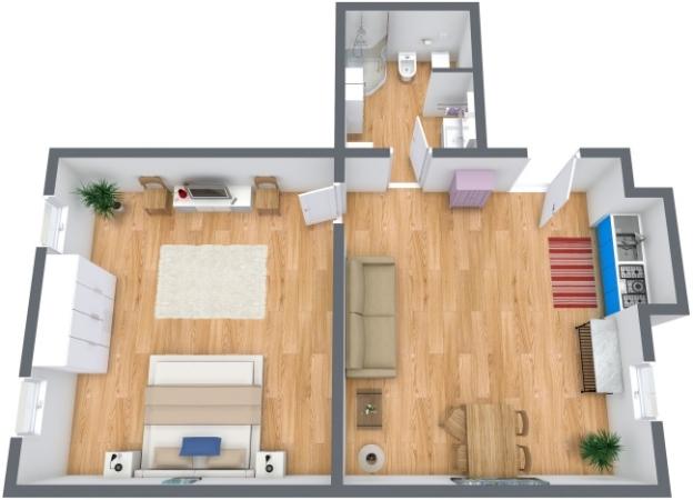 Planimetria Appartamento N.213