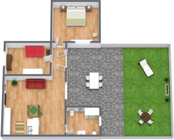 Planimetria Appartamento N.221