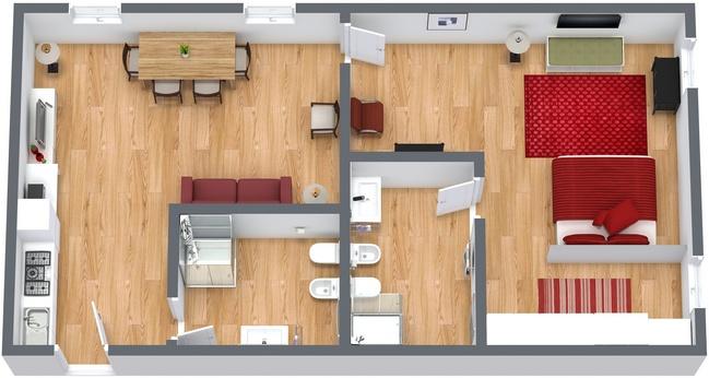 Planimetria Appartamento N.223