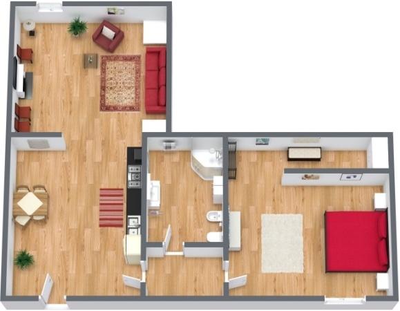 Planimetria Appartamento N.239