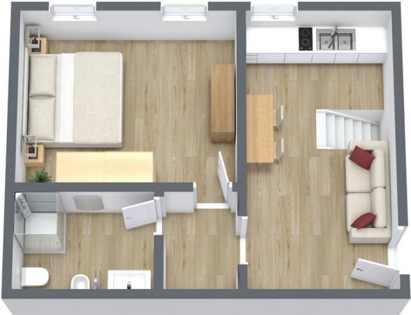 Planimetria Appartamento N.24