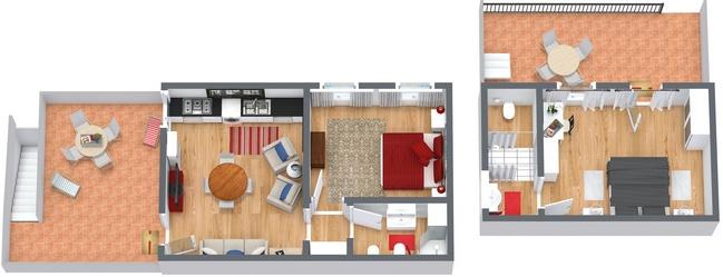 Planimetria Appartamento N.241