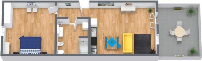 Planimetria Appartamento N.247