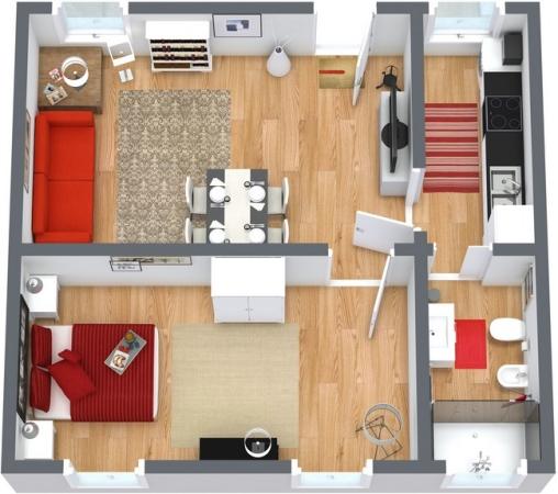 Planimetria Appartamento N.251