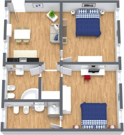 Planimetria Appartamento N.264