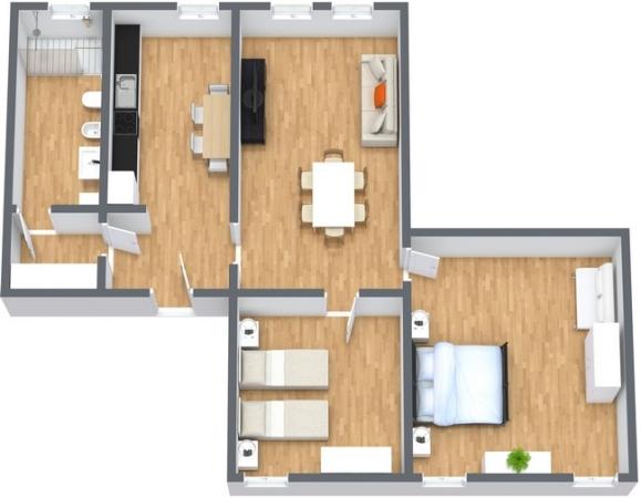Planimetria Appartamento N.266