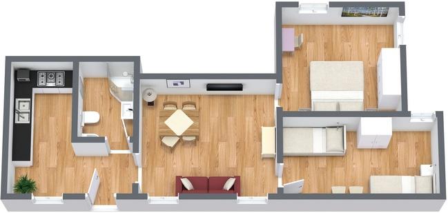 Planimetria Appartamento N.27