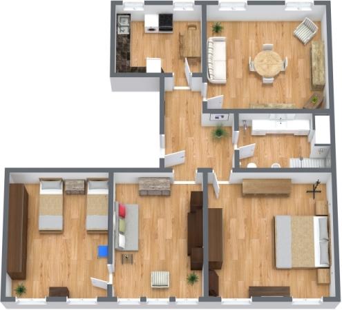 Planimetria Appartamento N.270