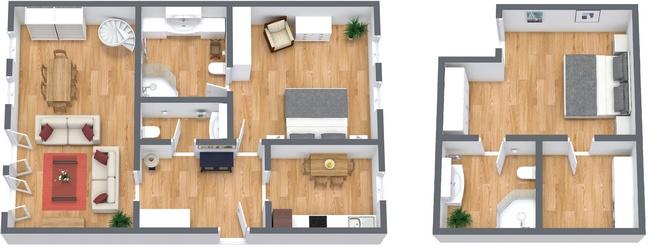 Bellissimo appartamento di lusso a venezia con vista for Planimetrie di lusso