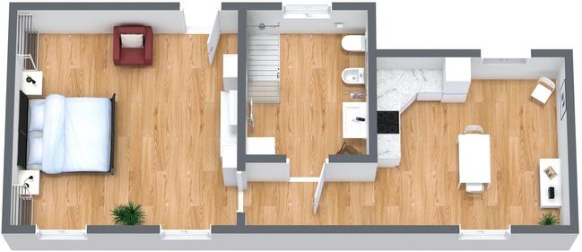 Planimetria Appartamento N.273