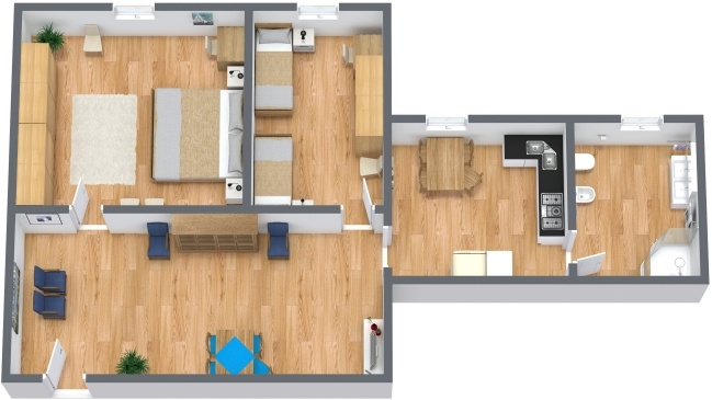 Planimetria Appartamento N.283