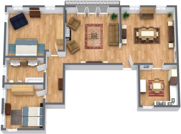 Planimetria Appartamento N.289