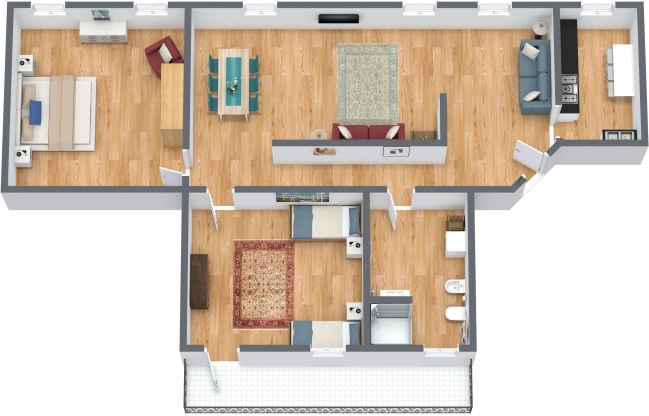 Planimetria Appartamento N.303