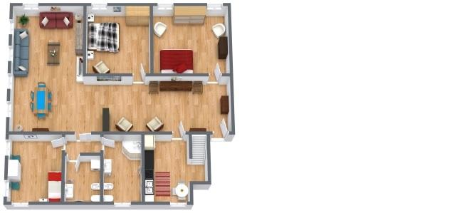 Planimetria Appartamento N.304