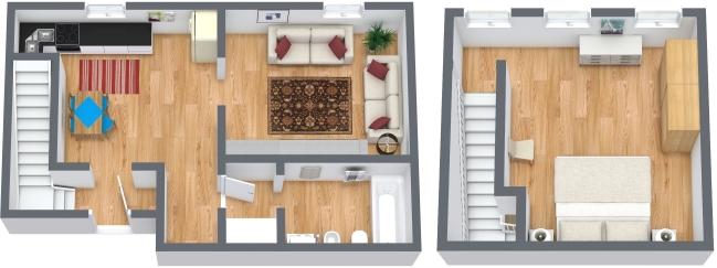 Planimetria Appartamento N.324
