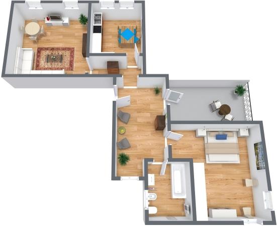Planimetria Appartamento N.325