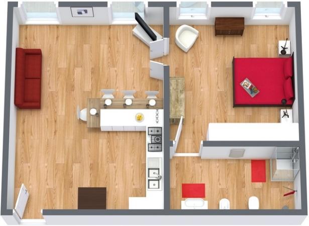 Planimetria Appartamento N.33