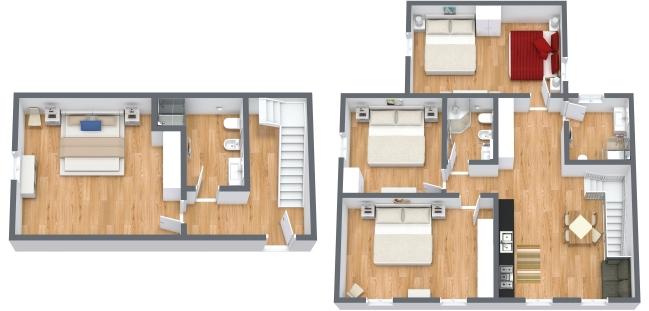 Planimetria Appartamento N.342
