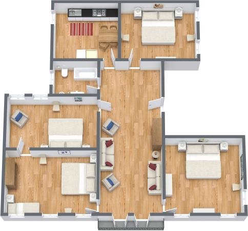 Planimetria Appartamento N.344