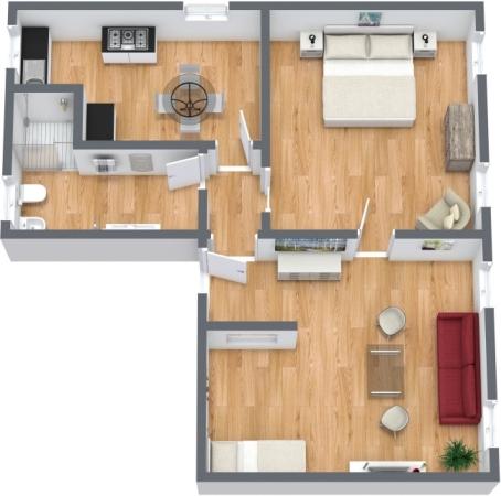 Planimetria Appartamento N.356