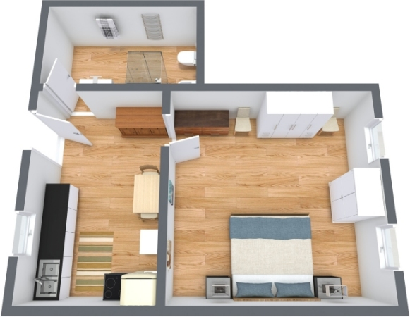 Planimetria Appartamento N.359